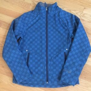 Lightweight (but warm) Blue Plaid Ski Jacket